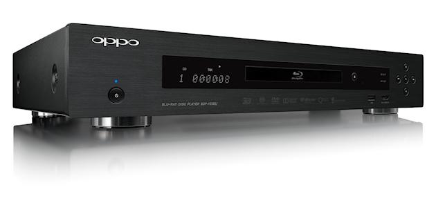 OPPO BDP-103EU (čelní panel)