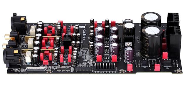 OPPO BDP-105EU (vnitřní audio deska s XLR konektory)